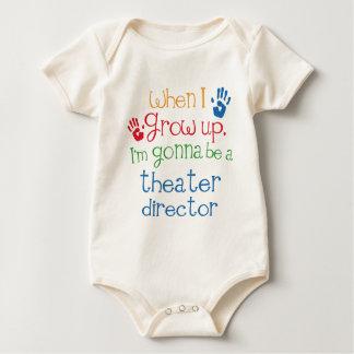 Director del teatro (futuro) niño trajes de bebé