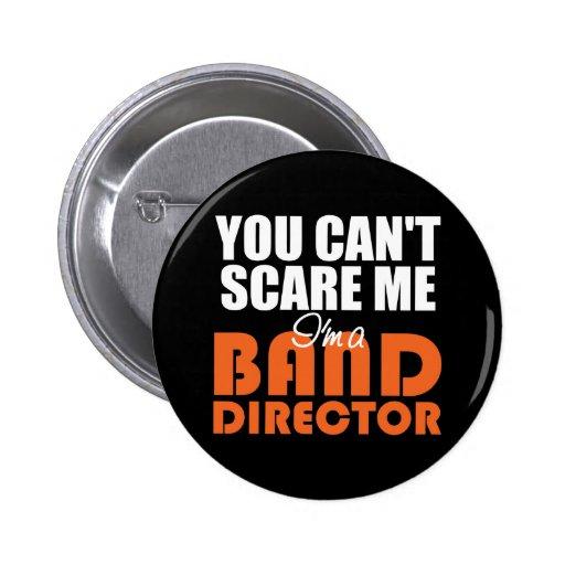 Director divertido Button de la banda Pin