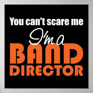 Director divertido Poster de la banda