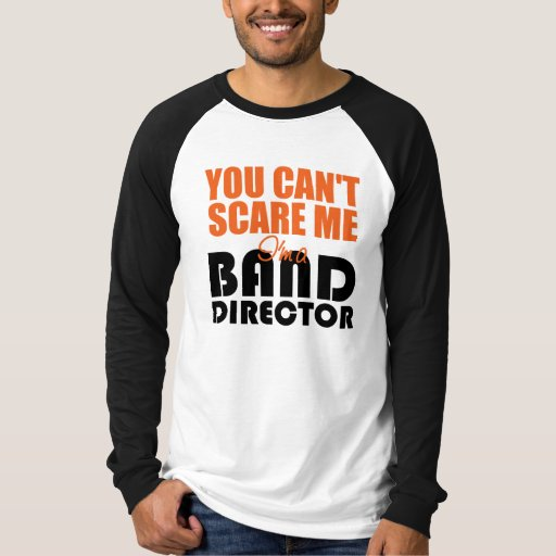 Director divertido T-Shirt de la banda Playera