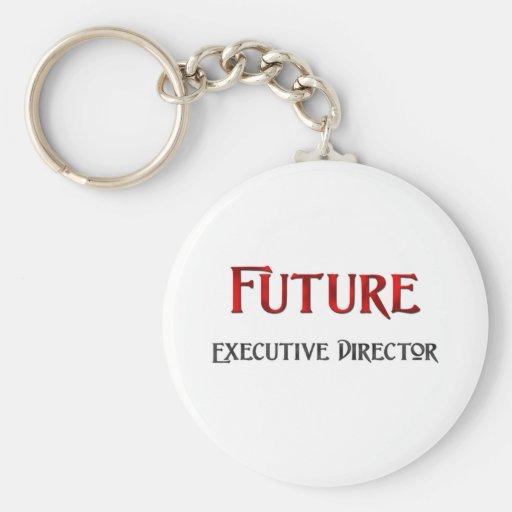 Director ejecutivo futuro llavero personalizado