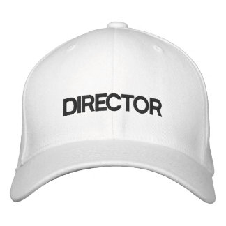 DIRECTOR EMBROIDERED BASEBALL HAT