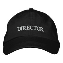 DIRECTOR Embroidered La La Land Hat