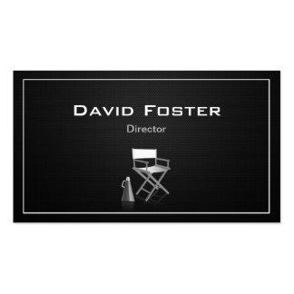 Director en la producción de teatro de la tarjetas de visita