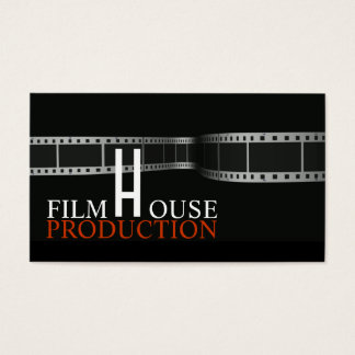 Director Film Movies Producer Production Business Card