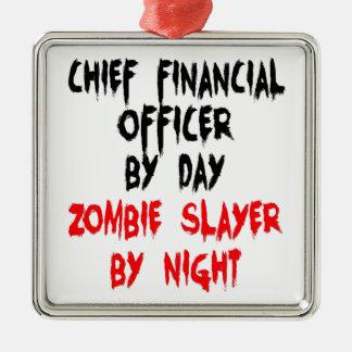 Director Financiero del asesino del zombi Ornamentos De Reyes