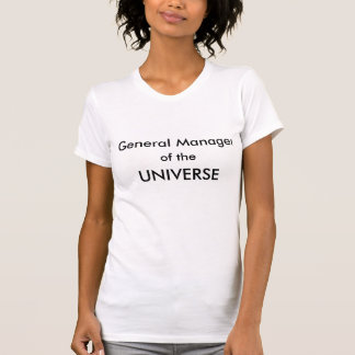 Director general del UNIVERSO Camisetas