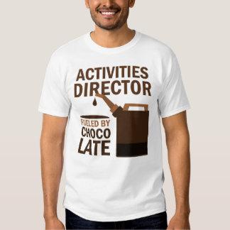 Director Gift de las actividades (divertido) Playeras