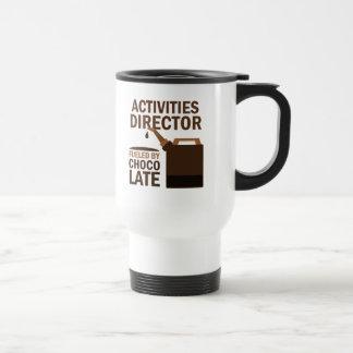 Director Gift de las actividades (divertido) Taza De Viaje De Acero Inoxidable