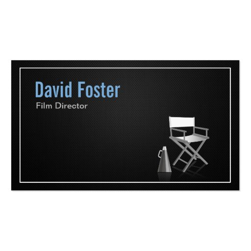 Director in film television theatrical production business cards