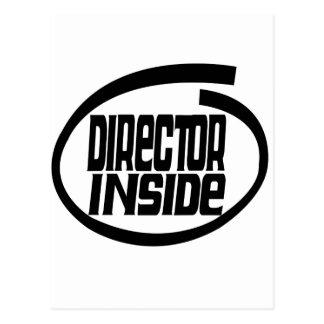 Director Inside Postcards
