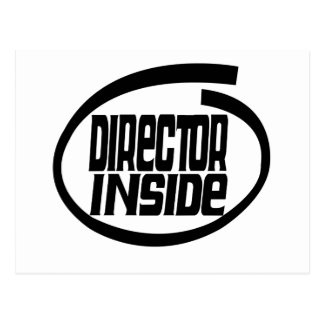 Director Inside Post Cards