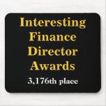 Director interesante Awards Joke Prize de las fina Tapetes De Ratones