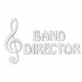 Director Jacket de la banda Chaqueta Bordada