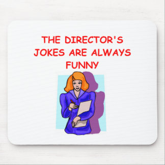 director mouse pad