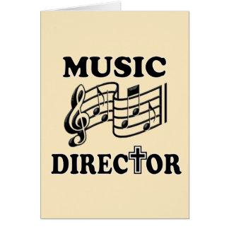 DIRECTOR MUSICAL DE LA IGLESIA TARJETON