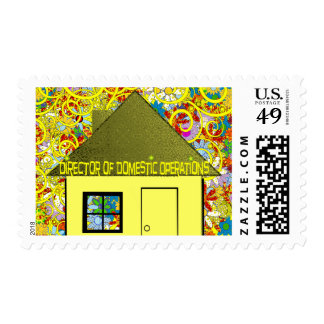 Director of Domestic Operations Postage Stamp