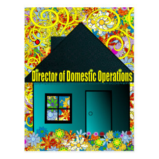 Director of Domestic Operations Postcard