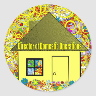 Director of Domestic Operations Sticker