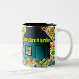 Director of Domestic Operations Two-Tone Coffee Mug