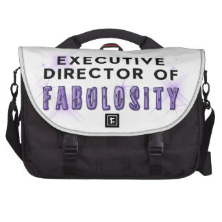 Director of Fabulosity Laptop Messenger Bag