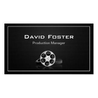 Director Producer Cutter del encargado de producci Tarjetas De Visita