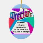 ¿Director… responsable? Adorno De Navidad