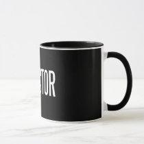 Director ringer mug 11 oz (Black edition)
