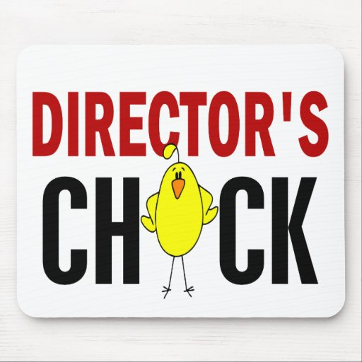 Director's Chick 1 Mouse Pads