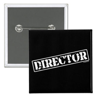 Director Stamp 2 Inch Square Button