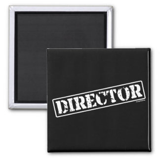 Director Stamp 2 Inch Square Magnet