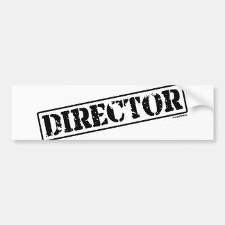 Director Stamp Pegatina Para Auto