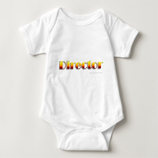 Director (Text Only) Baby Bodysuit