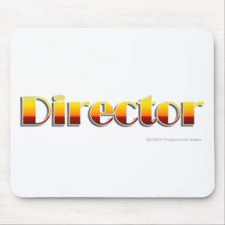 Director Text Only Mouse Pads