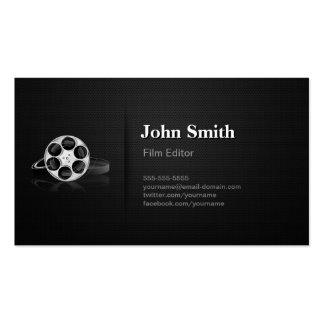 Director video profesional del cortador del redact plantilla de tarjeta personal