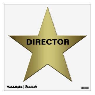 Director Wall Sticker