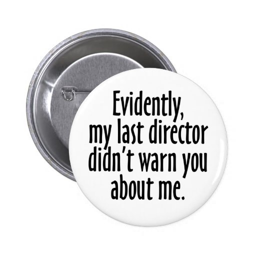 Director Warning Buttons