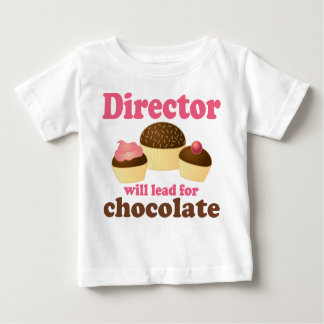 Director Will Lead for Chocolate Baby T-Shirt