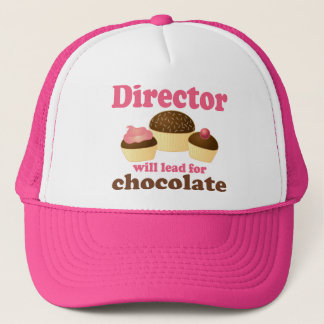 Director Will Lead for Chocolate Trucker Hat