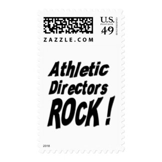 ¡Directores atléticos Rock! Sello