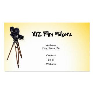 Directores de cine de XYZ Plantillas De Tarjetas Personales