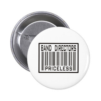 Directores Priceless de la banda Pin Redondo De 2 Pulgadas
