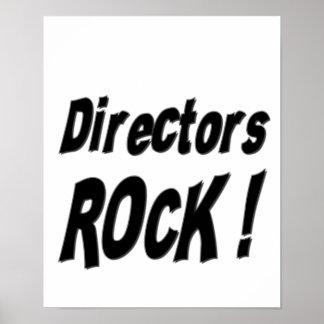 ¡Directores Rock Impresión del poster