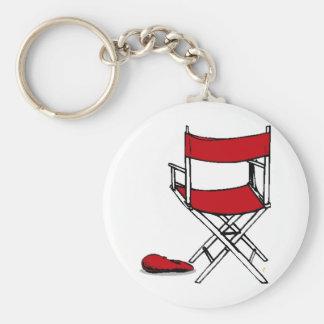 Director's Chair & Hat Keychain