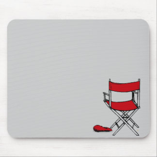 Director's Chair & Hat Mouse Pad
