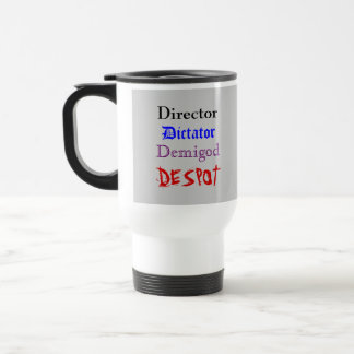 Director's Cup 15 Oz Stainless Steel Travel Mug