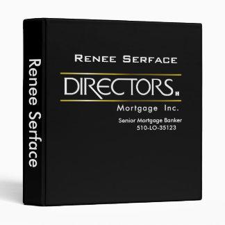 Directors Logo_Binder 3 Ring Binder