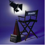 "Director's Slate, Chair & Stage Light 2 Statuette<br><div class=""desc"">Director's Slate,  Chair & Stage Light 2 - Color Photo Printed on posters,  office supplies,  fun stuff,  party favors,  collectible gifts and more. Easy to personalize.</div>"