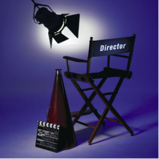 Director's Slate, Chair & Stage Light 2 Statuette