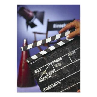 Director's Slate 4.5x6.25 Paper Invitation Card